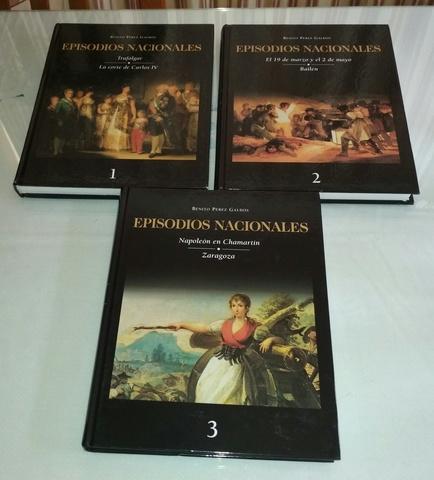 LOTE 7 LIBROS EPISODIOS NACIONALES - foto 5