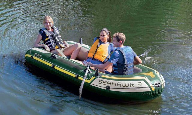 -BARCA HINCHABLE INTEX - SET SEAHAWK 3 - foto 2