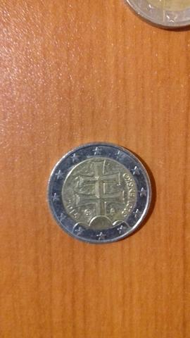 Moneda 2 Euros Eslovaquia 2015