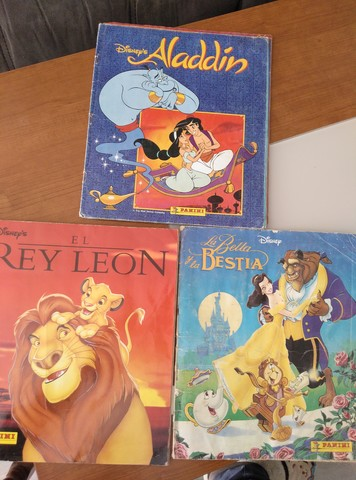 Panini el rey león sticker sticker 5 Cards 5 bolsas 20
