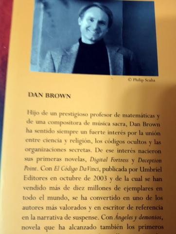 ANGELES Y DEMONIOS - DAN BROWN - foto 3