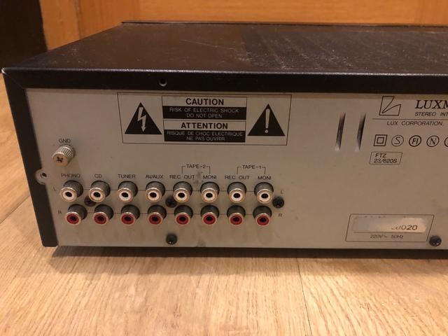 AMPLIFICADOR LUXMAN LV-100 - foto 5