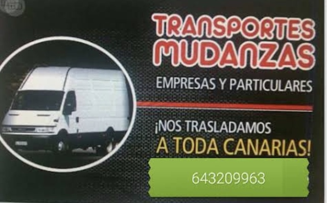 MUDANZAS—PUERTO DEL ROSARIO  Y TODA FTV - foto 1