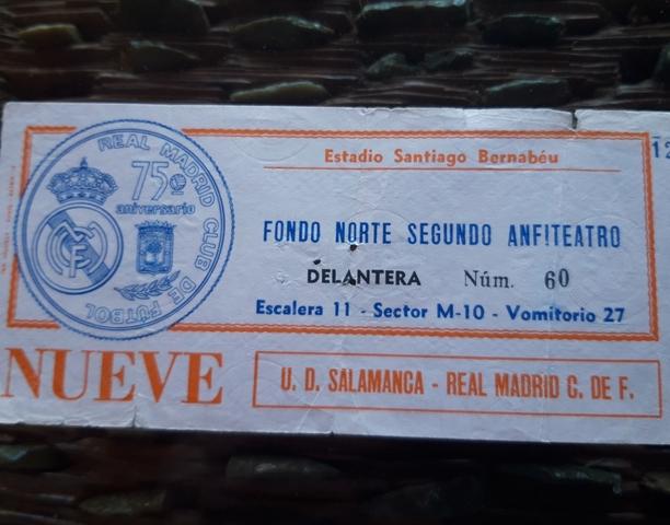 Mil Anuncios Com Entradas De Futbol Real Madrid Año 1977