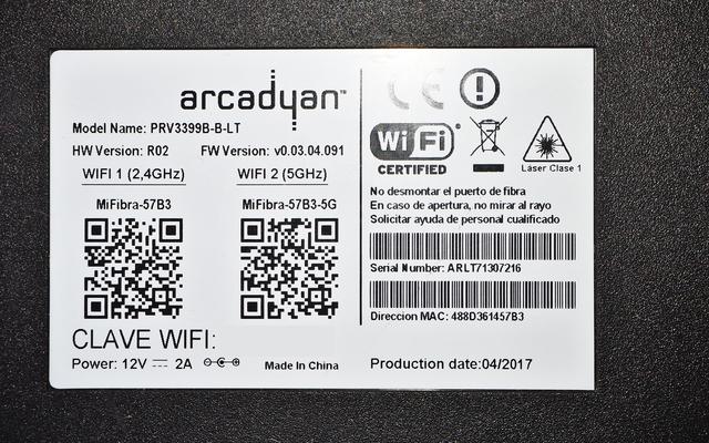 Configurar Wan Arcadyan