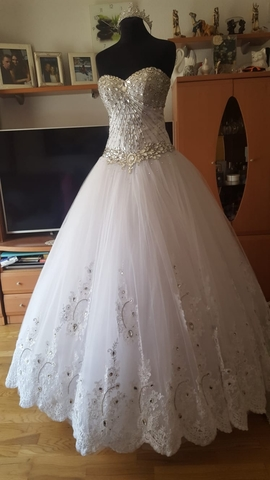 Vestido Novia Princesa
