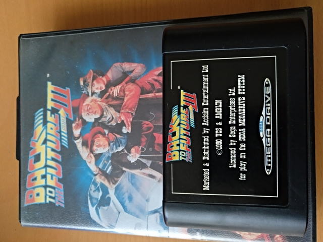 BLACK TO THE FUTURE3  MEGADRIVE - foto 1