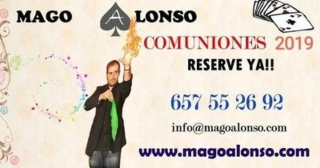 SHOW DE MAGIA COMUNIONES JAEN.  - foto 1