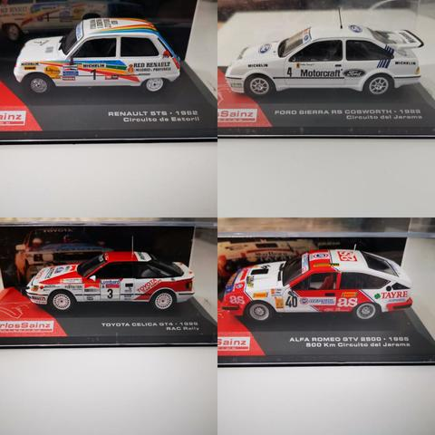 Coches Rally De Carlos Sainz Escala 1:43