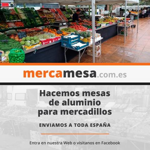 MESAS PLEGABLES PARA MERCADILLOS ! - foto 1