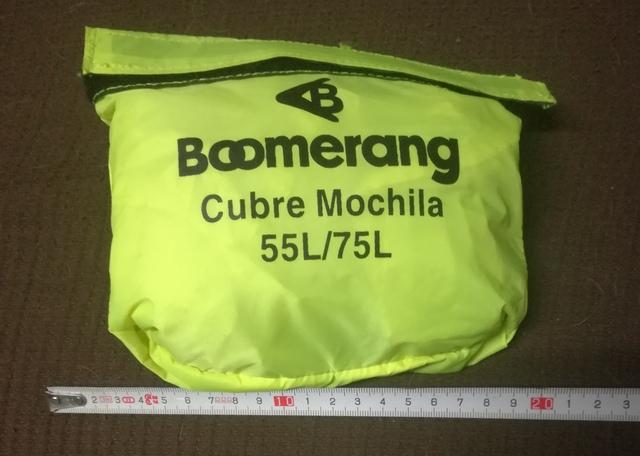 Cubre Mochila Boomerang