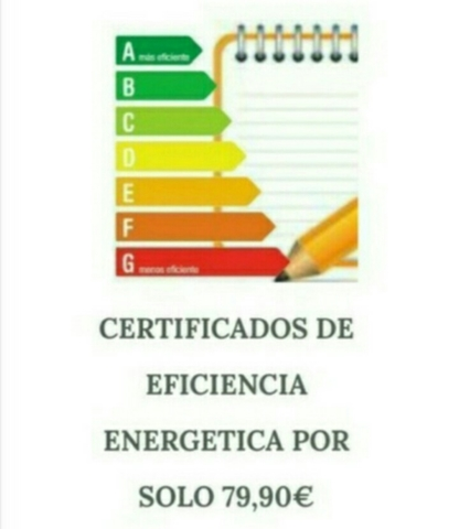CERTIFICADOS ENERGETICOS 79, 9 SEVILLA - foto 1