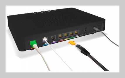 Router fibra jazztel