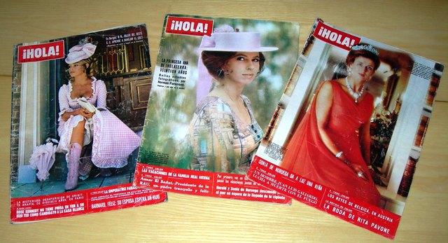 Revistas Antiguas De Hola