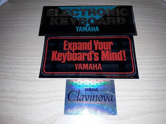 Pegatinas Varias De Yamaha Electronica