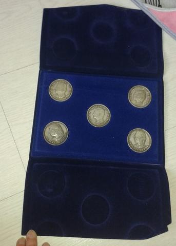 Colección Monedas Plata Casa Real