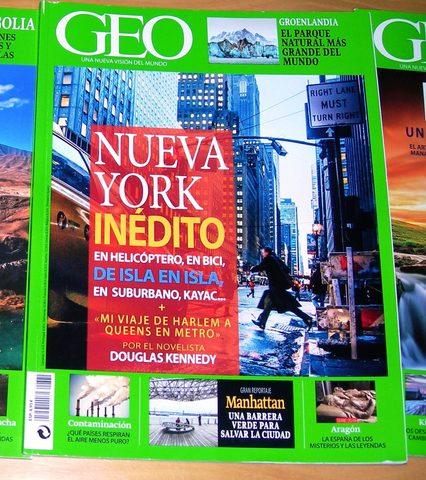 Revistas Geo Nueva York