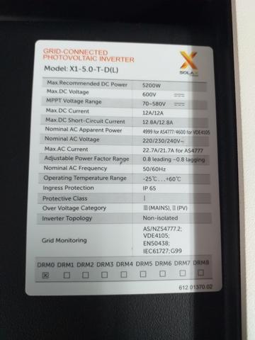 SOLAX X1 5  0 BOOST