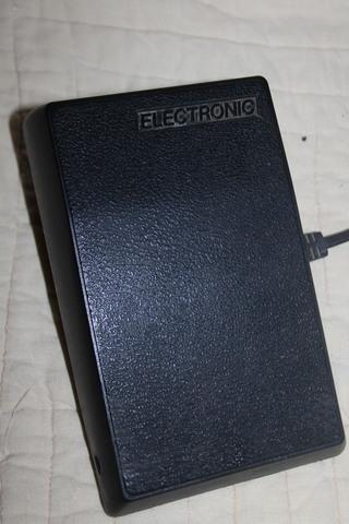 PEDAL DE MAQUINA DE COSER ELECTRONIC - foto 3