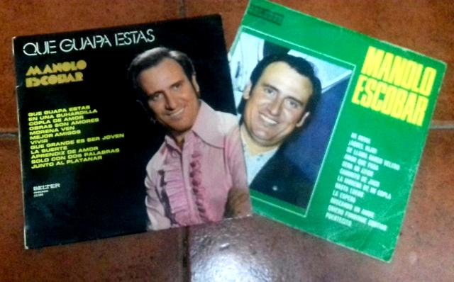 Discos De Vinilo Manolo Escobar.