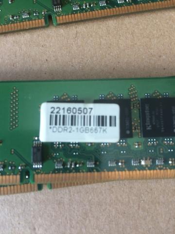 Memoria Ram Ddr2 4 Gb 4 Modulos