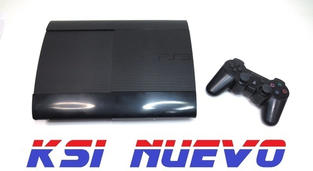 CONSOLA PS3 SUPER SLIM 35GB CON UN MANDO - foto 1