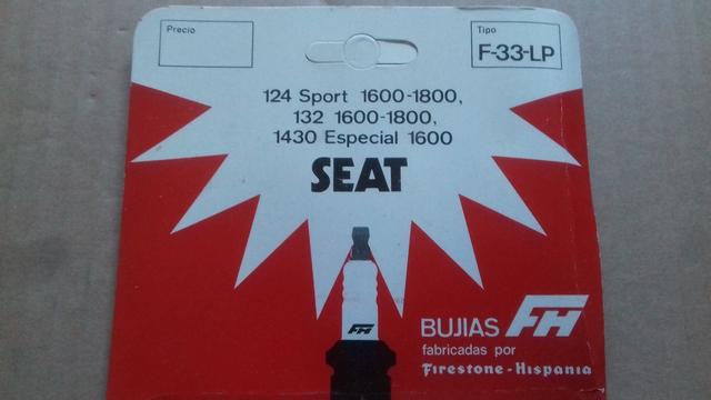 JUEGO BUJIAS SEAT 124 SPORT. SEAT 1430. . .  - foto 2