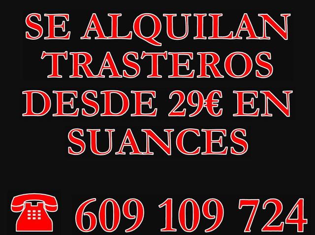 SUANCES,  ALQUILER DE TRASTEROS DESDE 29 - foto 1