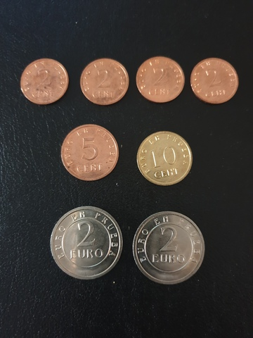Lote Monedas Euro De Prueba Churriana