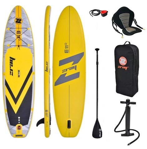 PADDLE SURF ZRAY E11 + ASIENTO KAYAK - foto 1