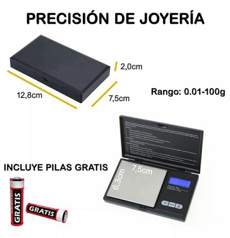 Peso Bascula Precision 0.01-100G