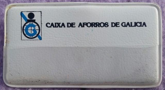 PIN CAIXA DE AFORROS DE GALICIA AÑOS '70 - foto 1