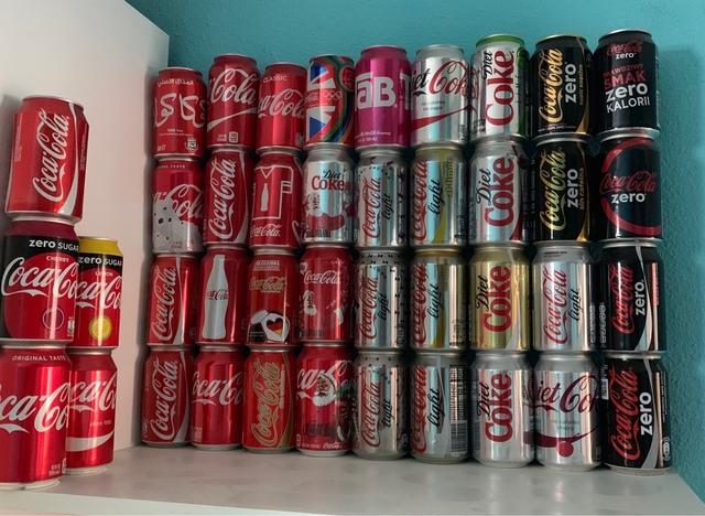 Colección 240 Latas Cocacola