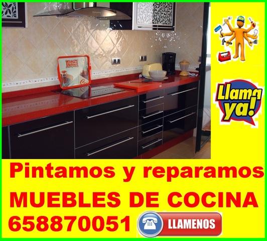 MIL ANUNCIOS.COM - ReparaciÓn pintura de muebles de cocina