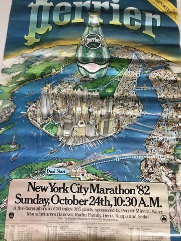 Poster Rmaratón Ciudad De Nueva York