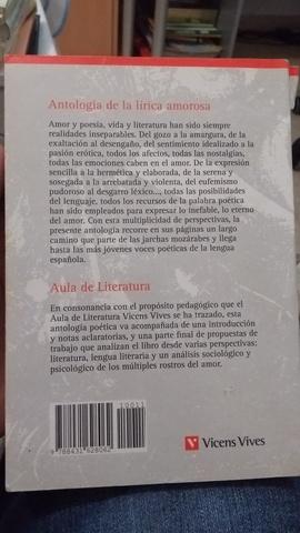 ANTOLOGÍA DE LA LÍRICA AMOROSA - foto 2