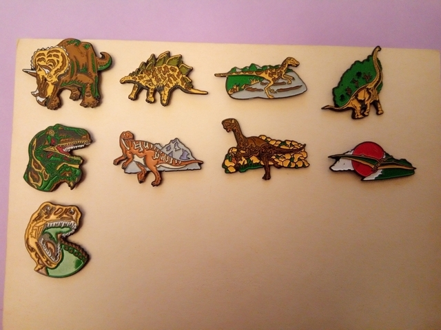 Pins Dinosaurios