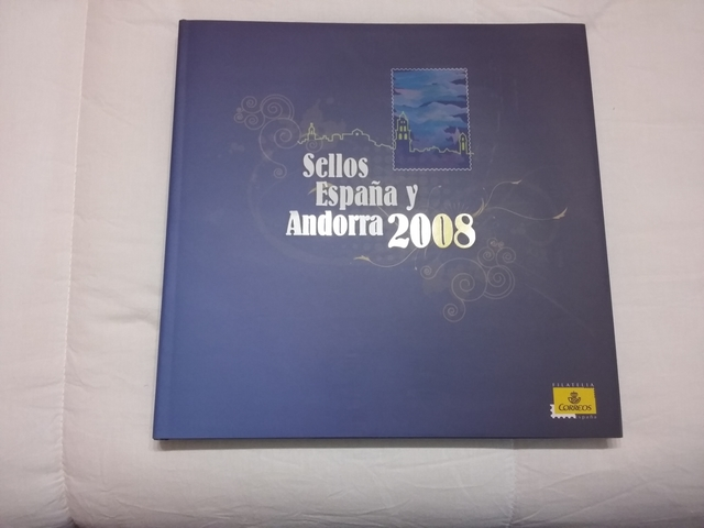 Álbum Sellos Año 2008