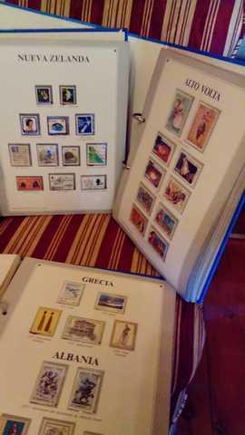 Colección Sellos Del Mundo