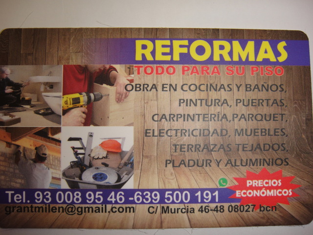 REFORMAS GENERAL - foto 2