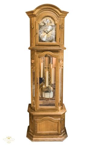 Reloj Antiguo De Pie Con 3 Pesas