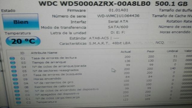 HDD WESTER DIGITAL 500 GIGAS TEXTADO - foto 2