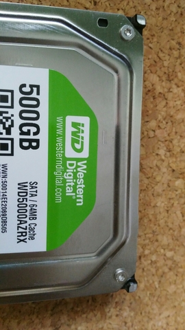 HDD WESTER DIGITAL 500 GIGAS TEXTADO - foto 3