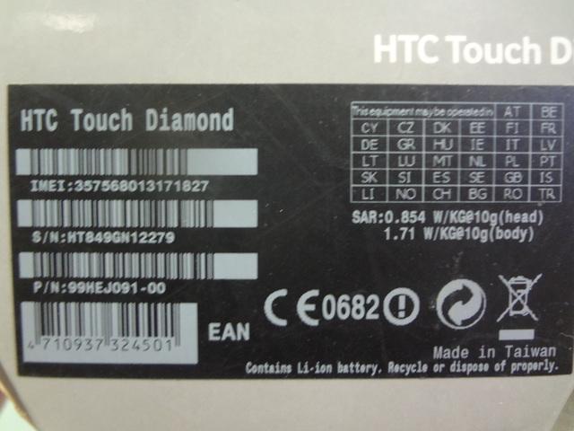 HTC TOUCH DIAMOND LIBRE COMO NUEVO - foto 7