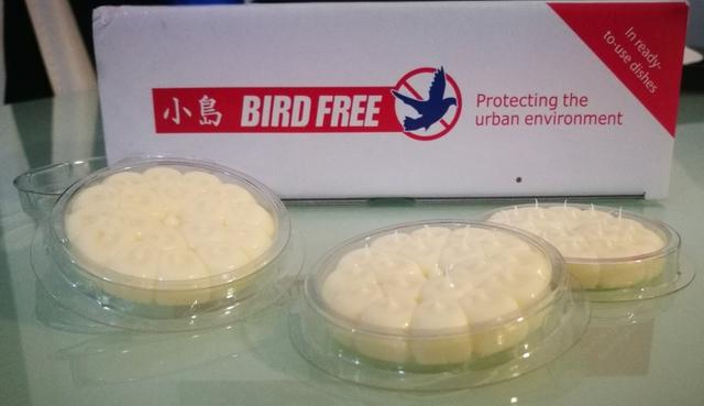 GEL BIRD FREE ( AHUYENTADOR DE AVES - foto 1