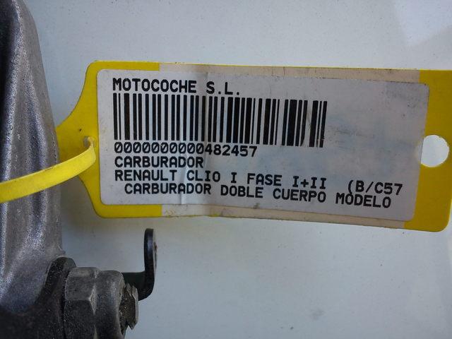 CARBURADOR RENAULT CLIO - foto 1