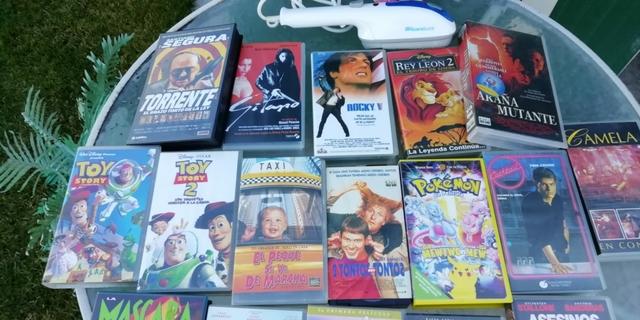 PELÍCULAS VHS ORIGINALES - foto 2
