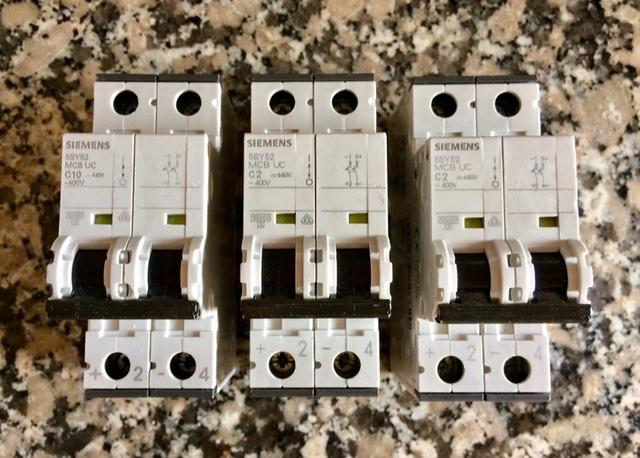 Interruptores Automáticos Siemens