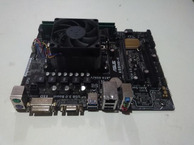 ASUS-A68HM-K - AMD + MICRO AMD A8-7650K - foto 1