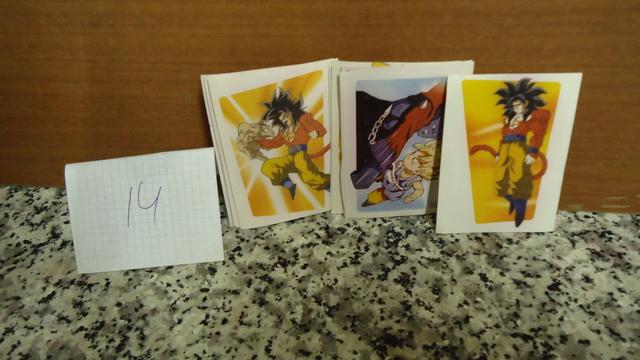 14 Pegatelas Dragon Ball Gt